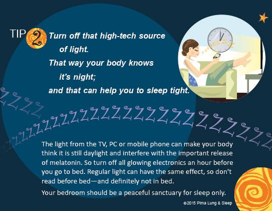 Sleep Tips - 10 Tips to Make You a Better Sleeper - Pima Lung & Sleep, PC